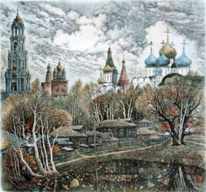 Opening reception for the Holiday exhibit of Russian prints in Bath, ME @ Green Lion Gallery | Bath | Maine | United States