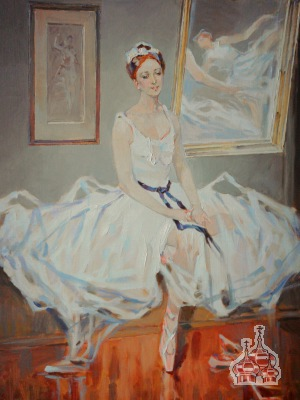 lapchinsky  Ballet Dancer At The Repetition