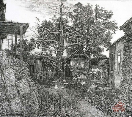 nikireev Aunt Frosya's Yard