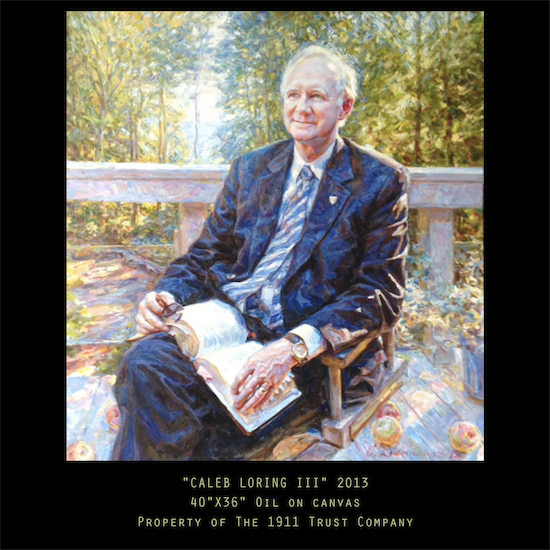 Caleb Loring III Portrait