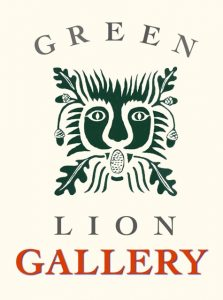 Green Lion Print Gallery in Bath, ME Logo