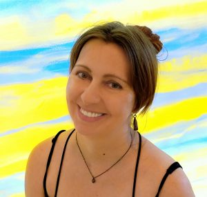 Maria Bablyak, Bostonian artist, co-author of the article